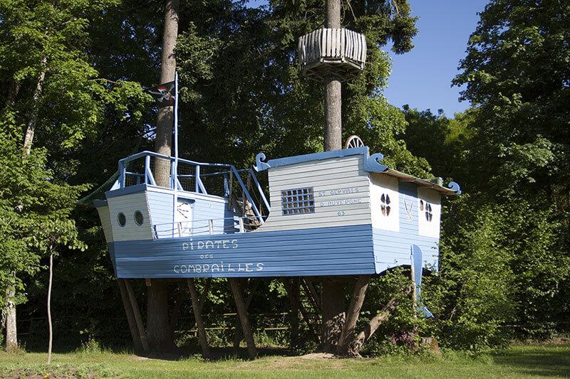 Notre cabane 6 personnes : le bateau Pirate